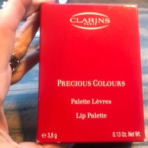 Clarins Lip Palette new with box
